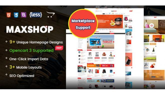 MaxShop - Fastest & Responsive Multipurpose Theme OpenCart