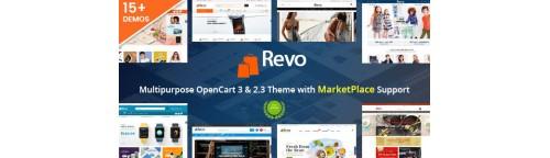 Revo - Drag & Drop Multipurpose OpenCart v1.0.9, v1.2.3