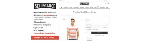 Sellegance - Responsive Theme for OpenCart v1.7.3